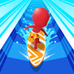 Water Race 3D Aqua Music Game mod apk (Unlimited Gems) v1.6.1