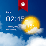 Transparent clock weather Ad-free Paid Subscribed Mod APK 5.2.5