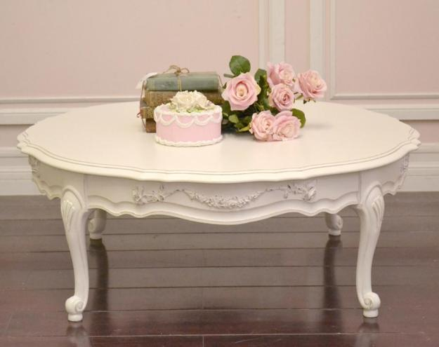 antique white coffee table | coffee tables