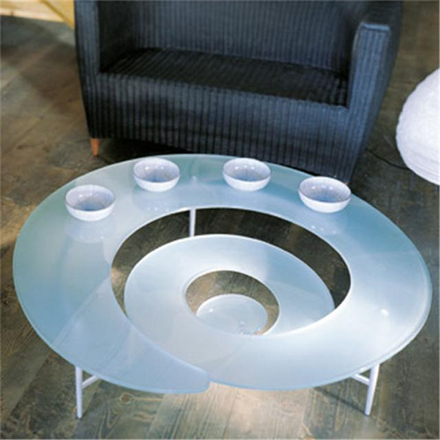 spiral funky coffee table coffee tables