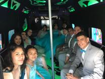 vip dallas party bus interior 2