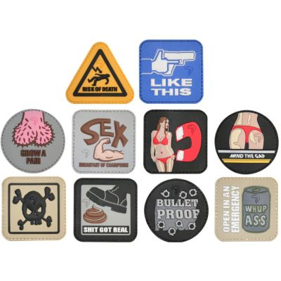 Morale Rubber Patches