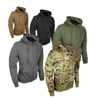 Taktični hoodie z zadrgo