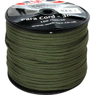 3mm paracord 100m