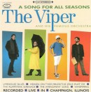 Front cover art for A Song for All Seasons, five-song EP by The Viper & His Famous Orchestra. Designed by Edward Burch.