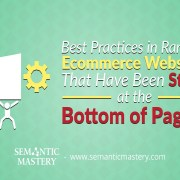 Best Practices in Ranking Ecommerce Websites