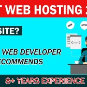 Best Web Hosting #1 Ranking 2019 | Senior Developer Recommends