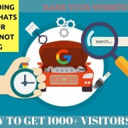 HOW TO GET 1000+ VISITORS ON YOUR WEBSITE  | RANK YOUR WEBSITE | HINDI-URDU |
