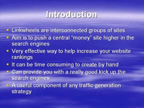 How To Get Traffic To your Website and Improve your Ranking Introduction flv