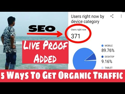 How To Improve Google Search Ranking Results    5 Proven Way To Get Organic Traffic(#Episode-2)