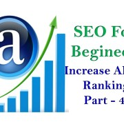 How to increase ALEXA Ranking to your Website - Seo For Begineers Part -4