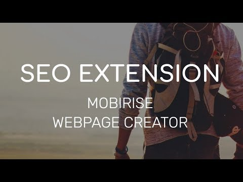 Mobirise Webpage Creator | SEO Extension