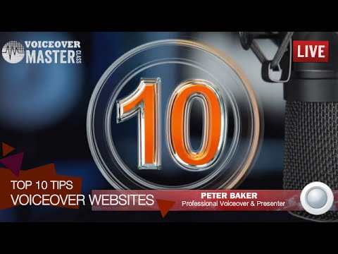 Voiceover Website Top 10 Tips - Improve the ranking and performance of your voiceover website