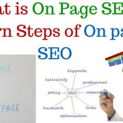 What is On Page SEO - Learn the Steps of On page SEO - Hindi