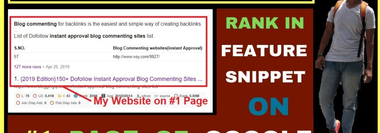 {Feature Snippet} Rank Your Website On Google's #1 Page | Search Engine Optimization | My Method
