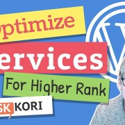 Optimize Services on Your WordPress Website for Google Rank