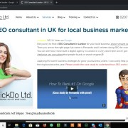 Wix SEO 2019 Ranking Wix Website #1 on Google UK