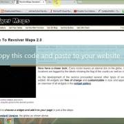how to add revolver maps to show website traffic ranking by visitor