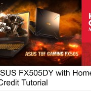 Getting ASUS FX505DY with Home Credit! Home Credit Tutorial| The Fanboy SEO