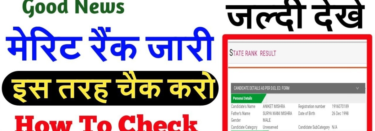 HOW TO CHECK YOUR DELED BTC STATE RANK 2019    DELED MERIT    IS ANSARI   