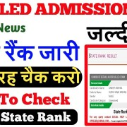 HOW TO CHECK YOUR DELED BTC STATE RANK 2019 || DELED MERIT || IS ANSARI ||