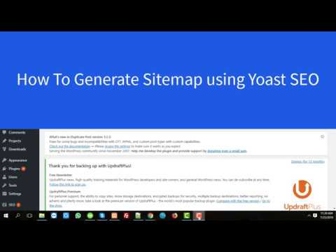How To Generate Sitemap Into WordPress Using Yoast SEO