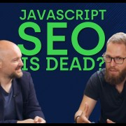 JAVASCRIPT SEO is DEAD! Now what?