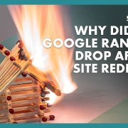 Q & A: Why did our Google ranking drop after website redesign?