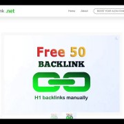 Get 50 Unique Backlinks For Free - Boost Alexa Rank