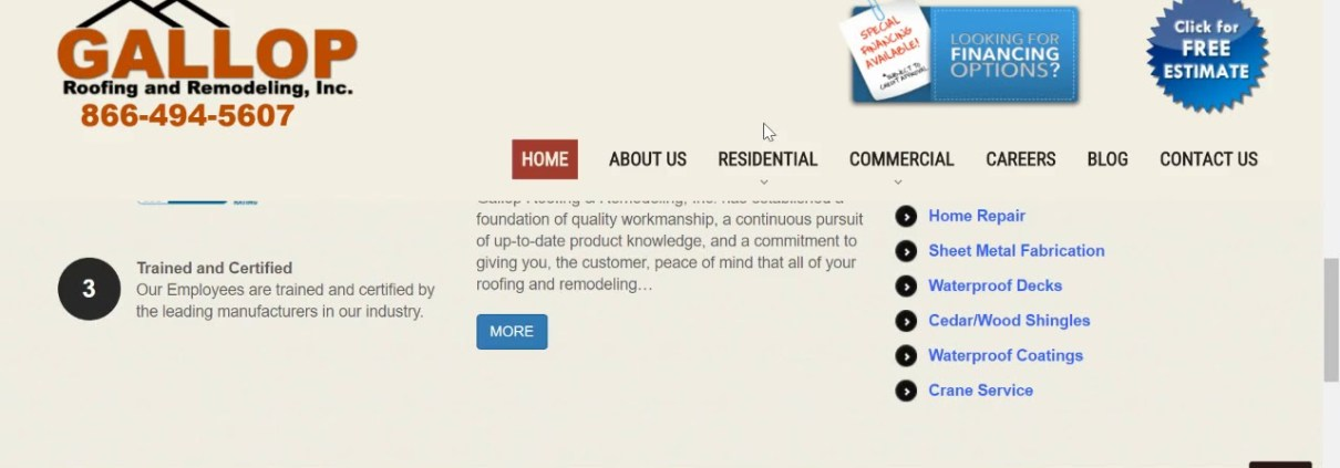 Get Your Free Website and Ranking Analysis for Your Roofing Business