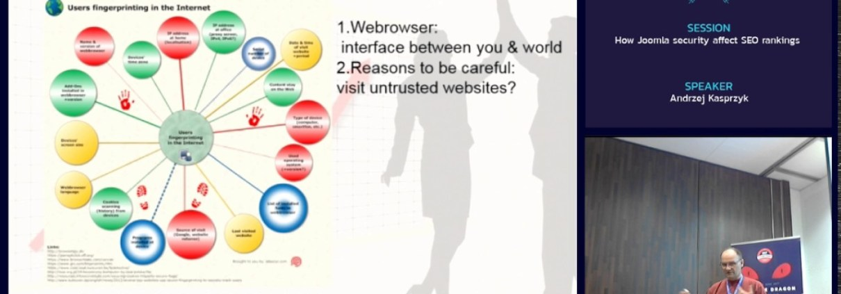 JAB17 - How Joomla security affect SEO rankings?