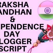 Raksha Bandhan & Independence Day Blogger Whatsapp SEO Friendly & Fully Responsive Script 2019