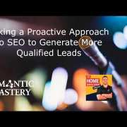 Taking a Proactive Approach to SEO to Generate More Qualified Leads on Home Service Expert