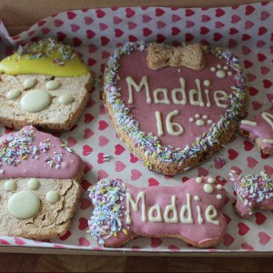 Softy Birthday Biscuit