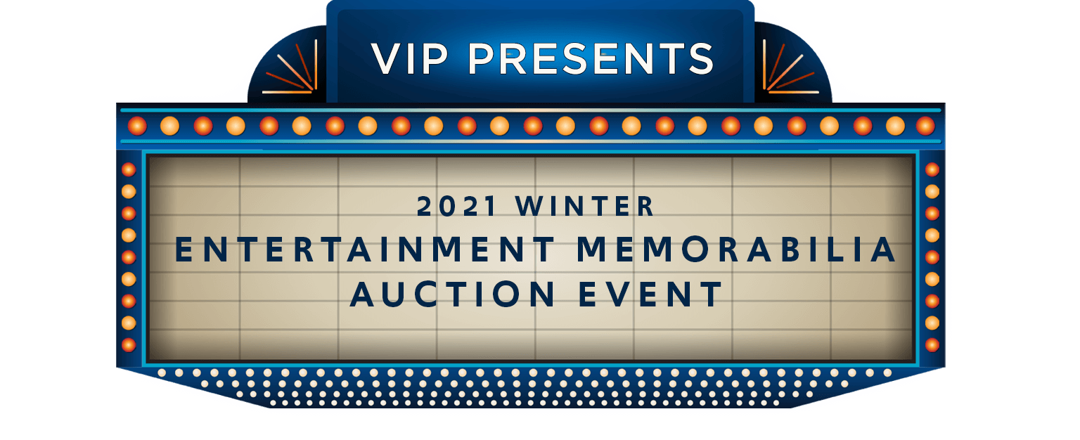 VIP Entertainment Consignment Auction
