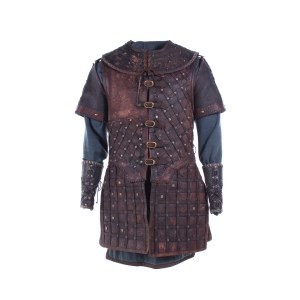 Vikings Hvitserk Marco Ilso Screen Worn Armor Shirt & Cuffs Ep 419
