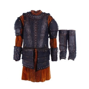 Vikings Aethelwulf Moe Dunford Screen Worn Armor Set & Tunic Ep 504-505