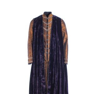 Vikings Alfred the Great Ferdia Walsh-Peelo Screen Worn Cape & Tunic Ep 512
