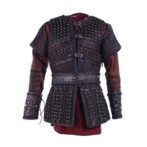 Vikings King Harald Finehair Peter Franzen Screen Worn Armor Belt Tunic & Cuffs Ss 5