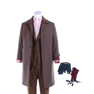 Fargo Josto Fadda Jason Schwartzman Screen Worn Stage 2 Coat Suit Shirt & Suspenders Ep 401