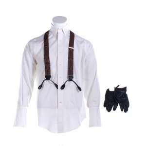 Fargo Josto Fadda Jason Schwartzman Screen Worn Shirt Suspenders Pin Clip & Gloves Ep 404 & 407