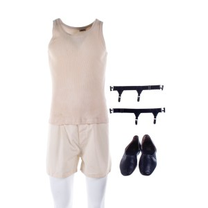 Fargo Josto Fadda Jason Schwartzman Screen Worn Shirt Shorts Suspenders & Shoes Ep  405 & 408