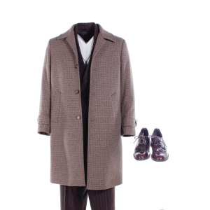 Fargo Josto Fadda Screen Worn Stunt Double Coat Suit & Shoes Ep 408