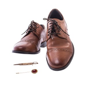 Fargo Josto Fadda Jason Schwartzman Screen Worn Shoes Pin & Clip Ep 406-407