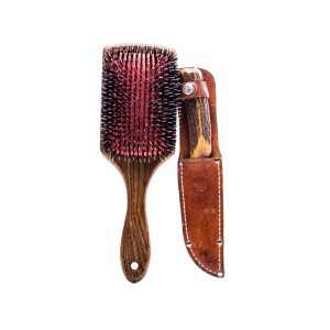 Fargo Josto Fadda Jason Schwartzman Screen Used Knife & Hair Brush Ss 4