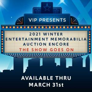Winter Entertainment Memorabilia Auction Shop