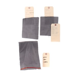 """Lot #59 – Bill & Ted Face The Music (2020) Ted """"Theodore"""" Logan Keanu Reeves Production Made Suit Swatches & Asset Tags"""