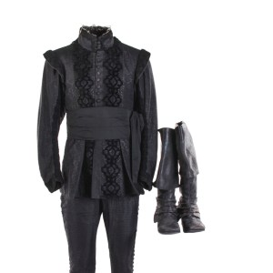 Lot #247 – The Three Musketeers (2011) Aramis Stunt Double Jacket Pants Belt & Shoes