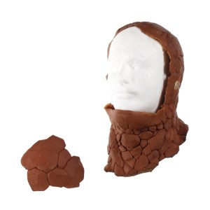 "Lot #87 – Fantastic Four (2005) Ben Grimm ""Thing"" Michael Chiklis Production Made Prosthetic Cowl Head & Head Piece"