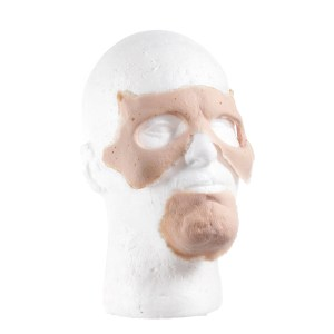 Lot #129 – Land of The Dead (2005) Production Made Zombie Prosthetic Face Pieces